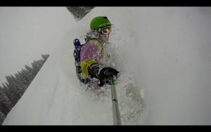Snowboarding, Les Gets, France